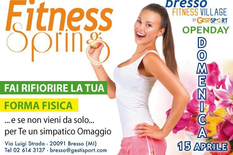 OPEN DAY FITNESS SPRING 15 APRILE